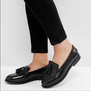 ASOS - Wide leather loafers